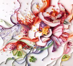 paper quilling illustration - Yulia Brodskaya