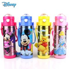 #Disney #Bottles Baby Cup Kids #Water Bottles Minnie Mouse Mickey Stainless Steel Thermos Bottle Leak Proof Christmas Gifts for Boys Girls Online with $26.39/Piece on Topfashionkids's Store | DHgate.com