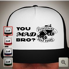 Support one of your favorite teams and get a MAD trucker hat to show for it!  These are a one time printing only available for 12 more days so make sure you order yours now!! All proceeds support #motherlodeareaderby You #MAD bro? #rollerderby by motherlodeareaderby