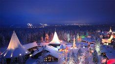 The Santa Claus Village in Rovaniemi. Photo: visitrovaniemi