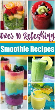 With warmer weather on the horizons I can't help but start thinking about my favorite smoothie recipes. From breakfast to snack time or even a pick me up after a workout or time spent outside, you can never really have too much smoothie. We've also found