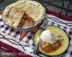 Mommy's Kitchen - Old Fashioned  Country Style Cooking: Apple Pie