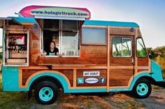 Hula Girl Truck Food Truck