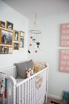 Awesome artist, Tuesday Schmidt had a baby and made the cutest nursery you  ever did see! Great details and one lucky baby! | Baby | Pinterest | Nursery  ...