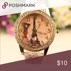 Mori Girl Watch Casual mori girl style, retro printed pattern, this faux leather band watch is a beautiful accessory for all women Accessories Watches