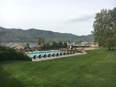Pool at Lake Chelan
