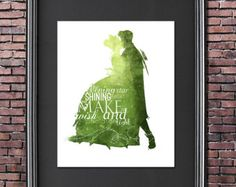 Once Upon a Dream 8x10 Poster  DIGITAL door LittoBittoEverything