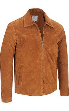 Wilsons Leather Classic Suede Jacket - Wilsons Leather