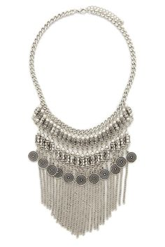 Fringe Statement Necklace #accessorize