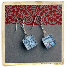 Map tile jewelry tutorial