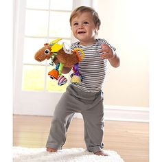These adorable Lamaze Play and Grow plush toys will warm parents' hearts with their expressive faces and soft features.