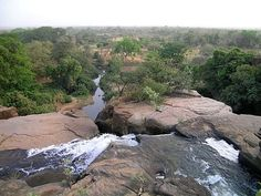 Burkina Faso; Waterfalls at Karfiguela.
