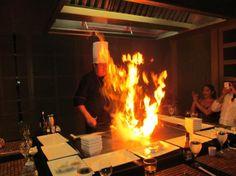 Valentin Imperial Maya: Ginger Japanese restaurant