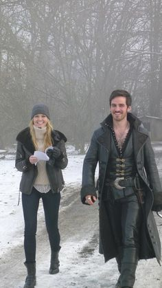 Emma and Hook!!!!