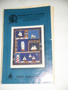 quilting pattern - Summer Sails quilt pattern