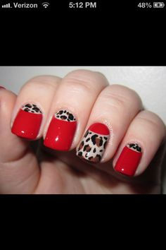 Red & Cheetah moon