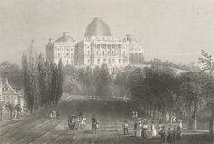 http://usa.mycityportal.net - United States Capitol, 1830s - #usa #america