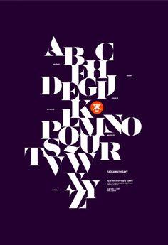 Áron Jancsó : Serif Alphabet