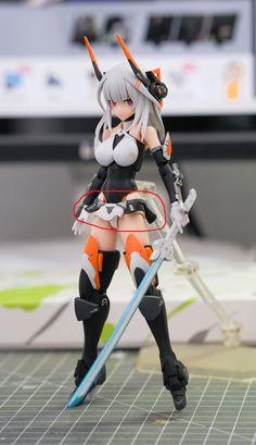 Female Character Design, Character Design References, Character Design Inspiration, Gundam, Woman Mechanic, Frame Arms Girl, Cool Shapes, Robot Girl, Cartoons Love