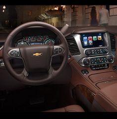 2015 Chevy Tahoe LTZ interior