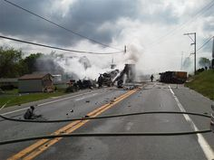 A three-vehicle, double-fatal accident in Lebanon County - May 10, 2012