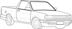 VW – VolksWagen Saveiro CL 1.6 Mi / CL/ C 1.6 1997 Gasolina Belo Horizonte MG   Roubados Brasil