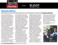 Bleep in TimeOut Mumbai's sex issue. What can we say? Bonk more Honk less. (March 2014) - http://www.timeoutmumbai.net/mumbai-local/featuresfeatures/sound-advice