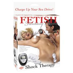 """Fetish Fantasy series Shock Therapy by Pipedream Give your sex life a """"charge"""" with this incredible beginner's electro-sex kit. This electric stimulation Shock Therapy kit is perfect for first-timers and those new to e-stimulation. #electrotherapy #electrosextoy #bdsmcyprus #bondagecyprus"""