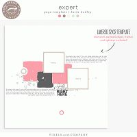 Expert | the page template - by Karla Dudley