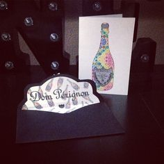 Dom Perignon Postcard and Envelopes  I'm in LOVE ❤️ #dom #domperignon #party #postcard #envelopes #custom #craft #crafting #santamonica #happy #happylife #fashion #luxury #luxurylife #theibshop #papercraft