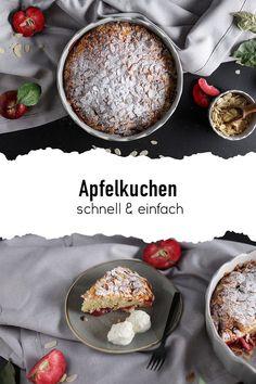 Besuch hat sich kurzfristig angemeldet oder du bist spontan eingeladen und brauchst noch schnell einen leckeren Kuchen? Dieser einfache Apfelkuchen ist in 5 Minuten zubereitet und kann dann direkt in den Ofen. 🍎 #sallys #sallyswelt #sallysweltrezept #rezept #recipe #apfelkuchenrezepteinfach #apfelkuchenrezeptschnell #schellerkuchen #kuchenrezeptschnell #kuchenmitapfel #applepierecipe #apfelkuchensaftig #kuchenausdemmixer #lastminutecake #applecake #kuchenrezepteinfach #apfelkuchenselberbacken Pudding, Desserts, Food, Yummy Cakes, Bakken, Apple Pie Recipe Easy, Fast Recipes, Tailgate Desserts, Deserts