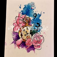 awesome Watercolor tattoo - watercolor tattoo  Doodle. Up for grabs! #watercolor #watercolortattoo #watercol...