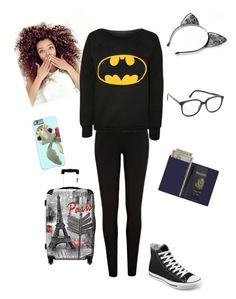 """""""catching a flight to peru"""" by sweetswagger ❤ liked on Polyvore featuring Royce Leather, Converse, River Island, IKASE and STELLA McCARTNEY"""