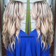 Platinum blonde. Ash blonde. Silver blonde. Balayage highlights