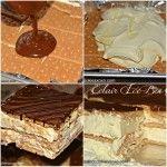 Chocolate Dipped Magic Custard Cake Squares. - Hugs and Cookies XOXO