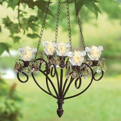 ANYWHERE CHANDELIER -  want for the pergola when we get one!