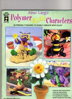 Polymer Clay - Cinthia Nogueira - Picasa Web Albums..Written instructions!