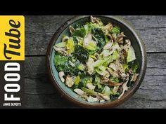Grilled Chicken Caesar Salad   DJ BBQ - YouTube