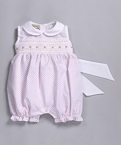 710ee669aee Classy Couture Pink Polka Dot Bubble Bodysuit - Infant