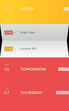 Ex-Ideo Designers Rethink The Calendar For Mobile Devices | Co.Design | business + design