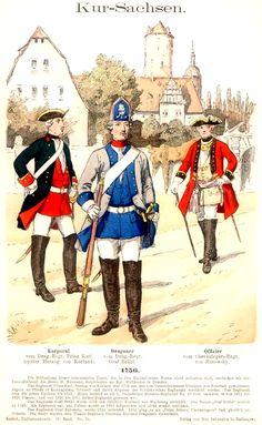 Die sächsische Armee war die Armee des Kurfürstentums und späteren Königreichs Sachsen und existierte als stehendes Heer seit 1682. Im Kurfürstentum Sachsen trug die Armee die Bezeichnung kurfürstlich sächsische Armee. Durch die Rangerhebung Sachsens zum Königreich durch Napoleon im Jahre 1807 änderte sich die Bezeichnung der Armee in Königlich Sächsische Armee.