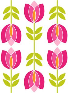 I think I'm in love with this shape from the Silhouette Design Store! I think I'm in love wi Flower Pattern Drawing, Pattern Art, Flower Patterns, Flower Drawing For Kids, Pichwai Paintings, Indian Art Paintings, Folk Art Flowers, Flower Art, Scandinavian Folk Art
