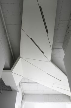 Gallery - HouseWING / AnLstudio + Heebon - 2 Ceiling Treatments, Ceiling Detail, Design Moderne, Futuristic Architecture, Futuristic Interior, Futuristic Design, Interior Architecture, Office Interiors, Interior Design Inspiration