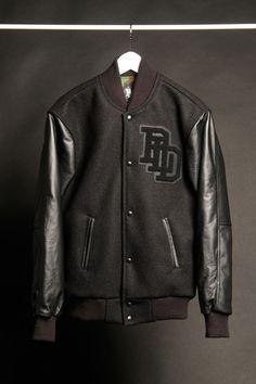 Pardon Le Dopeness - PLD - Silence varsity jacket front