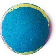 These DIY Lush-inspired Bath Bombs are super easy to make. Customize your with essential oils, colors and shapes. This rainbow bath bomb is my favorite!