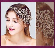 Oro hechos a mano Rhinestone Tiara de la boda accesorios para el cabello Rhinestone diadema nupcial impresionante partido de baile mujeres diademas en Joyas para Cabello de Joyería en AliExpress.com | Alibaba Group