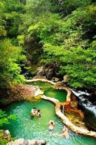 Hotel Hacienda Guachipelin hot springs, Costa Rica