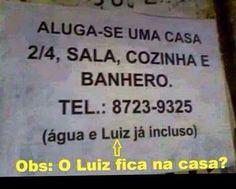 Post #: O Luiz fica no TRIPLEX ....