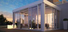 casa de madera y vidrio - Buscar con Google