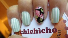 Great Barrier Reef Holiday Nails | chichicho~ nail art addicts
